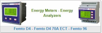 Energy Meters - Energy Analyzers